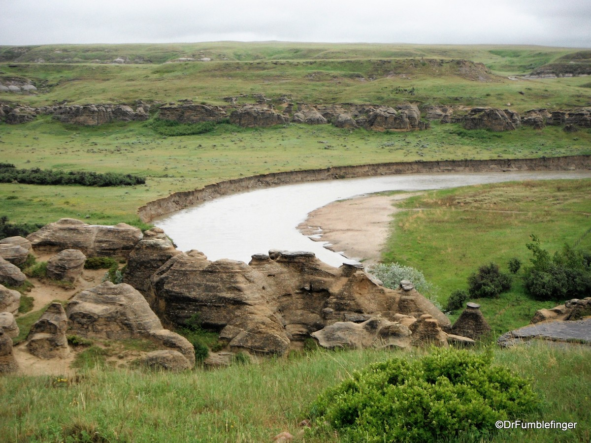 Milk River valley, Writing on Stone Provincial Park