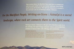 Visitor Center, Writing on Stone Provincial Park