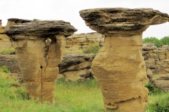 Hoodoos, Writing on Stone Provincial Park