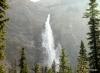 Takakkaw Falls in morning, a 245m. drop