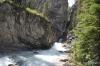Twin Falls Creek, downriver of falls.