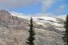Glacier in Yoho Valley