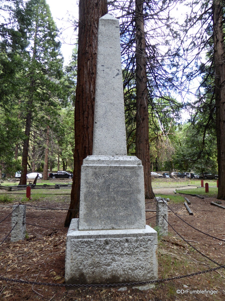 Pioneer Cemetery, Yosemite National Park.  Mr. Lamon was the first person to build a cabin in Yosemite in 1862