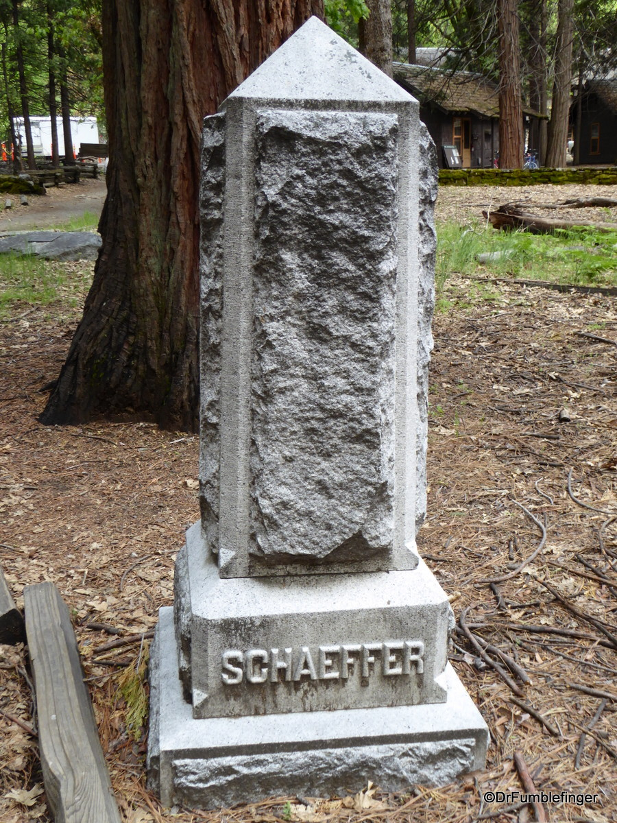 Pioneer Cemetery, Yosemite National Park.  Sadie Schaeffer was waitress at one of the park's hotels