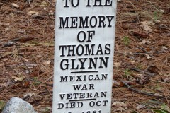 Pioneer Cemetery, Yosemite National Park.  Mr. Glynn was a currier and war veteran