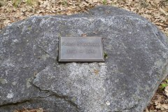 Pioneer Cemetery, Yosemite National Park.  Chief Ranger who died of a heart attack in 1943