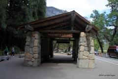 Yosemite Falls Bus Stop
