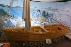 Yukon Transporation Museum, Whitehorse.  Diaorama of the Chilkoot Pass