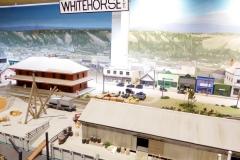 Yukon Transporation Museum, Whitehorse.   Miniature of the town