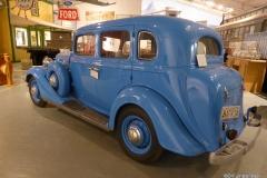 Yukon Transporation Museum, Whitehorse.  Main exhibit hall