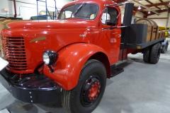 Yukon Transporation Museum, Whitehorse.  REO Gold Comet Truck, 1949
