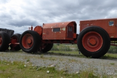 Yukon Transporation Museum, Whitehorse. Heavy construction equiopment for remote regions