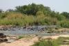 Zambezi River above falls