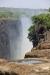 Dry riverbed precipice, Victoria Falls