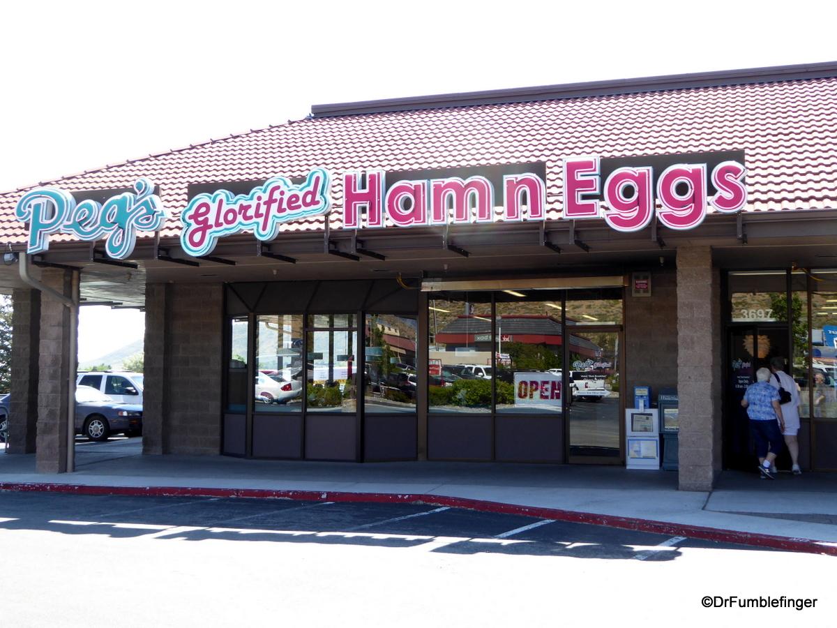 Peg's Glorified Ham in Eggs