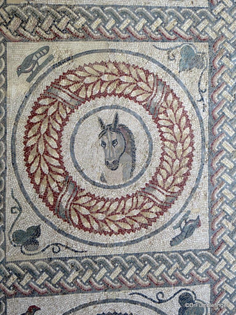Horse mosaic, Villa Romana del Casale