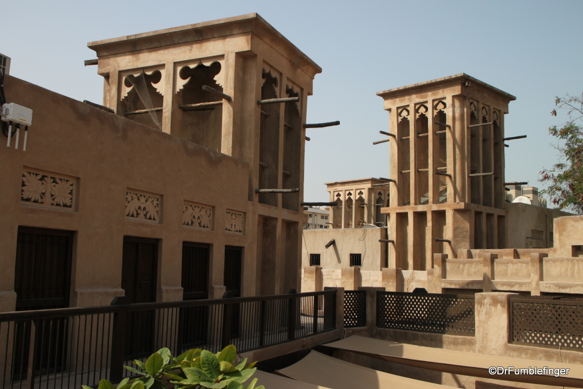 Al FWindtowers, Al Fahidi Historic District, Dubai