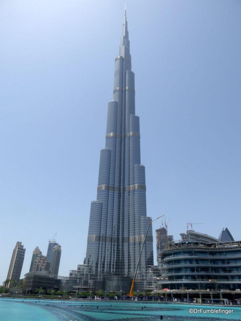 The magnificent Burj Khalif