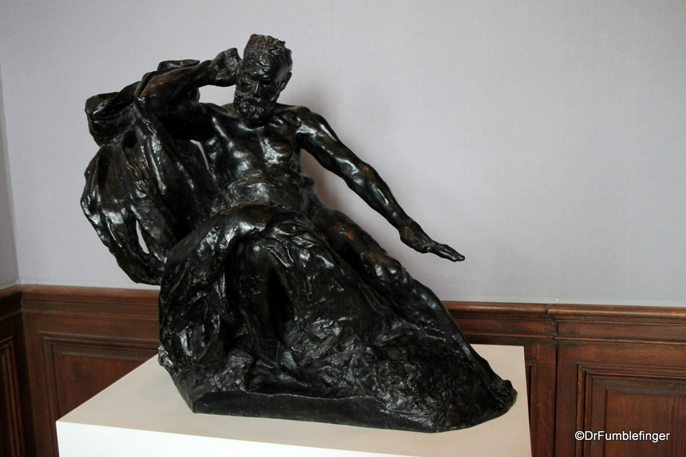 Model for 'Monument to Victor Hugo'. Rodin Museum, Paris