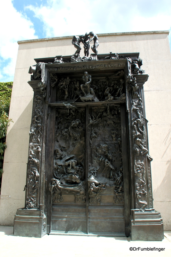 The Gates of Hell, Rodin Museum, Paris