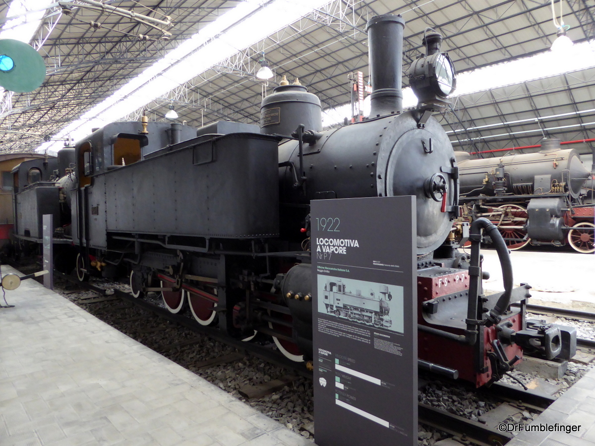 Train collection, Leonardo da Vinci National Science and Technology Museum, Milan