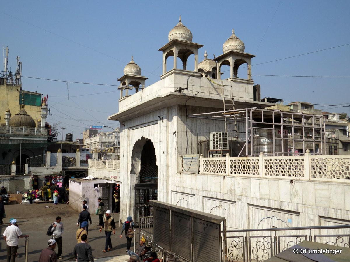 Main entrance to the Gurdwara Sis Ganj Sahib, Delhi
