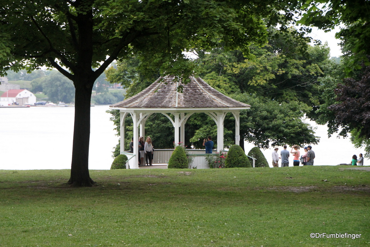 "Gazebo in Niagara-on-the-Lake built for the filming of ""The Dead Zone"""