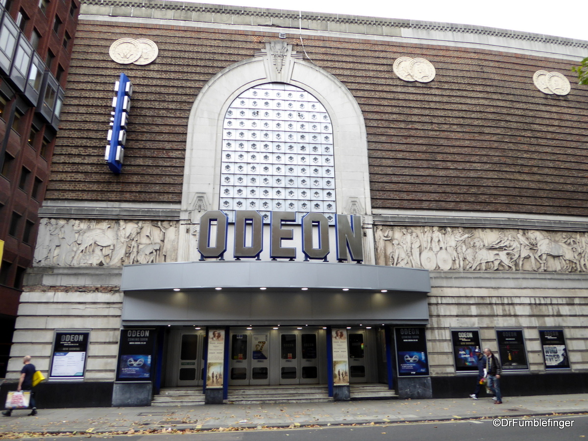 The famous Odeon Theater, London
