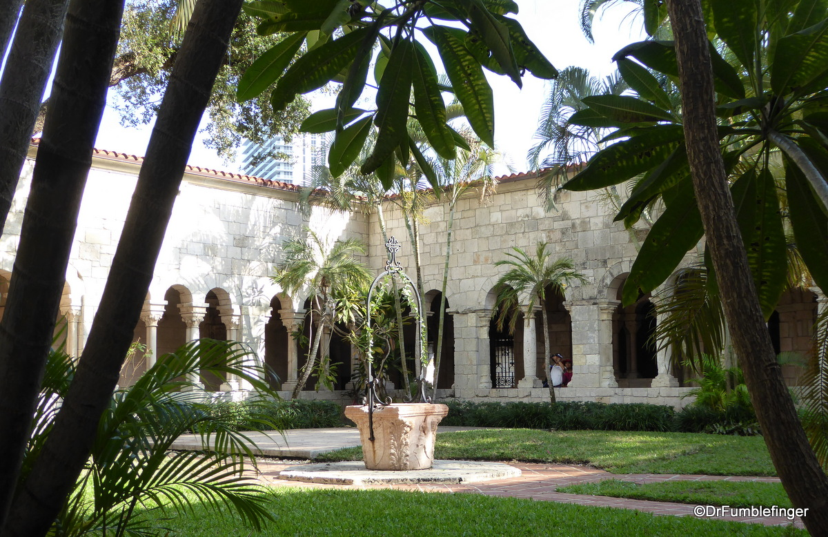 Courtyard, Ancient Spanish Monastery, North Miami Beach