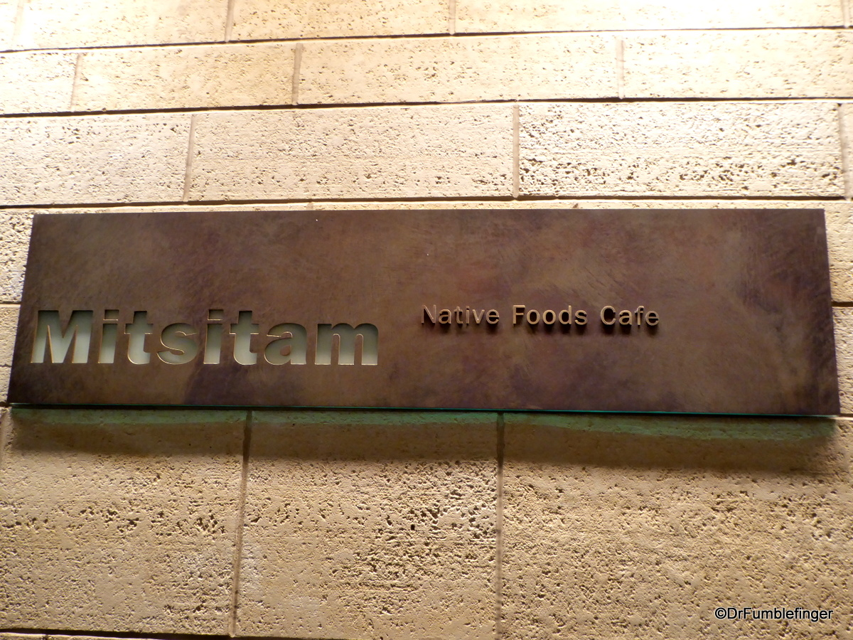 Mitsam Restaurant, Museum of the American Indian