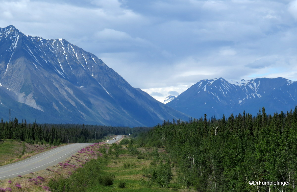 Alaska Highway and Kluane National Park