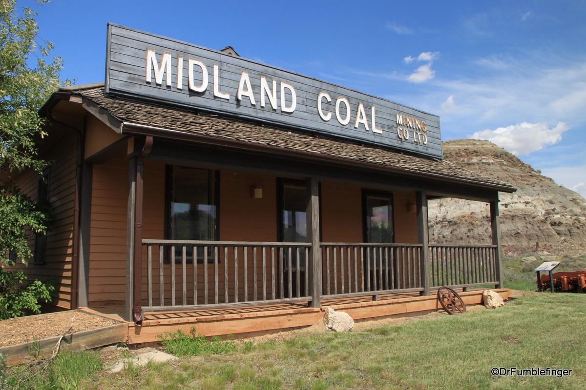 Coal Mining office, Midland Provincial Par