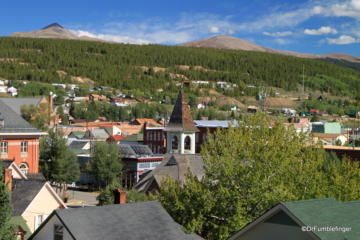 Overview of Leadville, Colorado