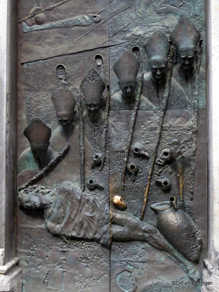 Bronze Door, Church of St. Nicholas