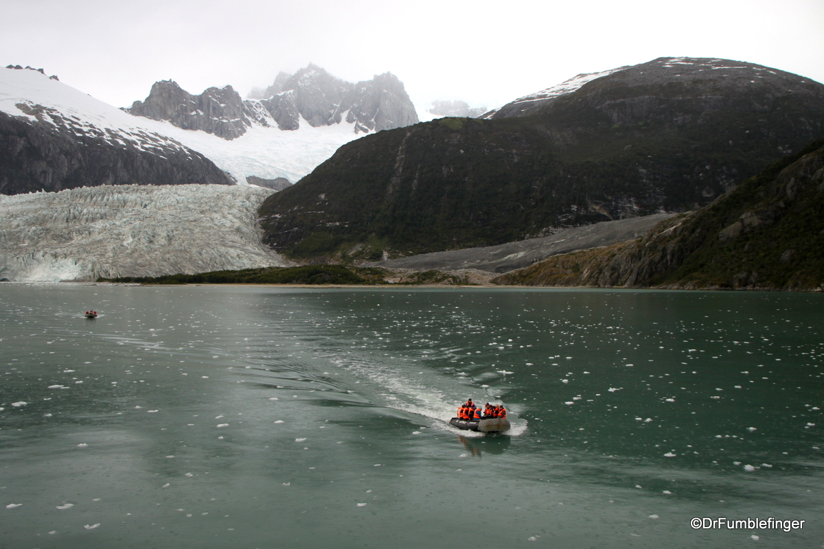 Returning to the Australis from Pia Glacier