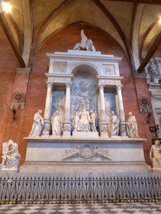 Titian Monument, Frari Church, Venice