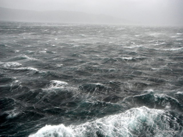 A storm at sea
