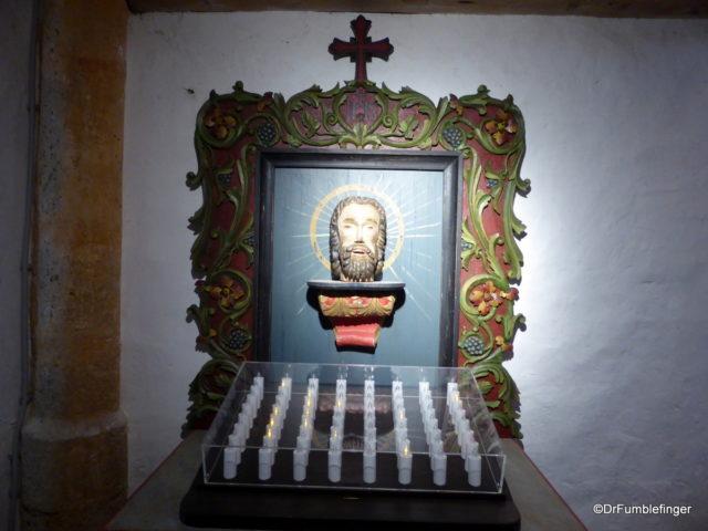 Head of St. John, Church of St. John the Baptist