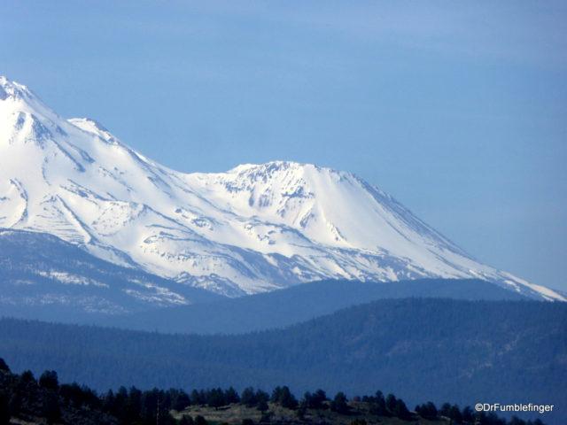 Mt. Shasta and Shastina subpeak