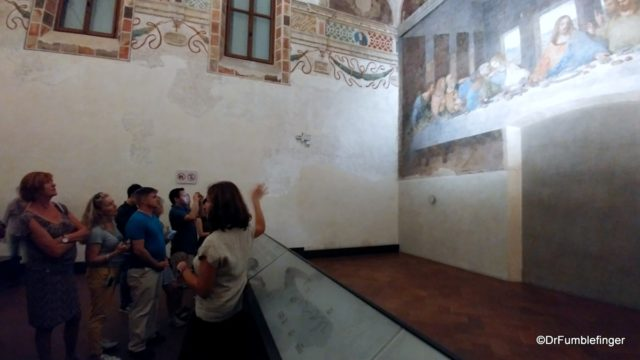 Guide providing historic background to The Last Supper