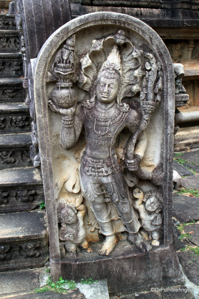 Guard stones, Quadrangle. Polonnaruwa