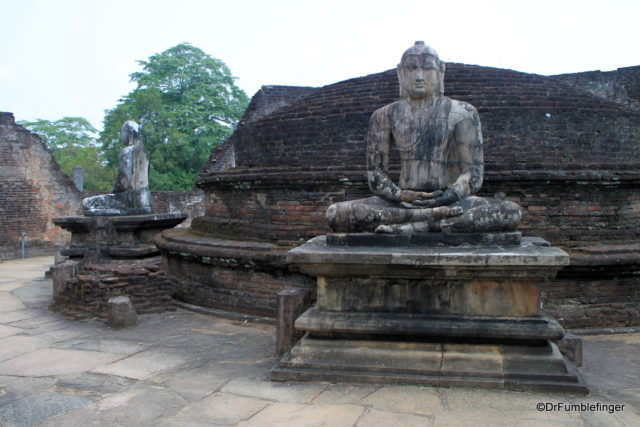Quadrangle. Polonnaruwa