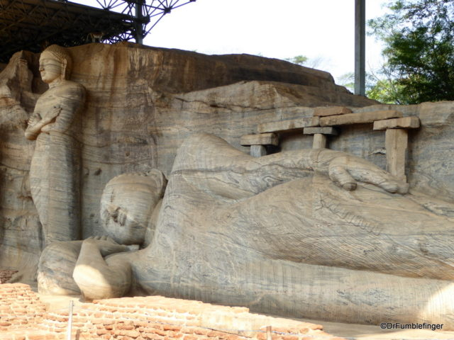 Gal Vihara in Polonnaruwa