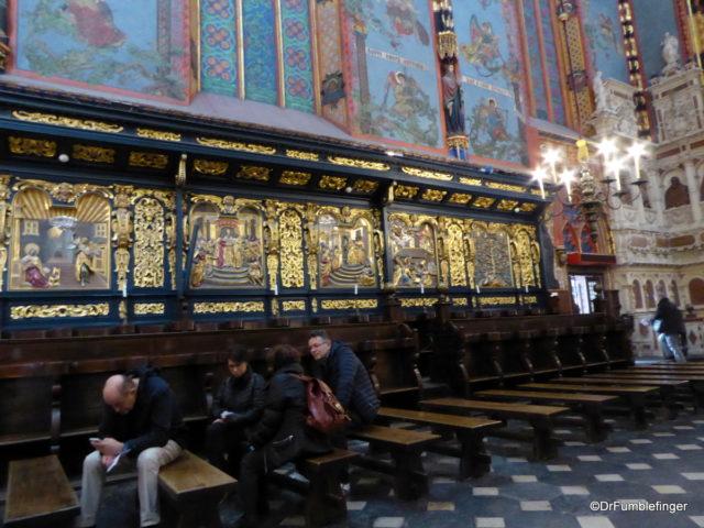 Choir, St. Mary's Basilica, Krakow