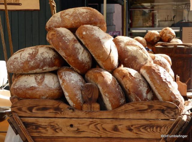 Fresh bread, Little Market Square, Krakow