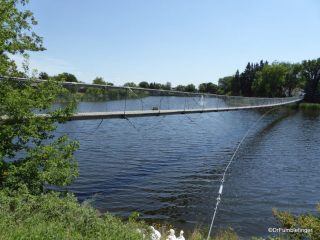 Swinging Bridge, Wolseley, Saskatchewan