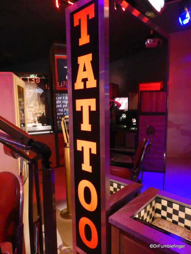 Tattoo exhibit, Maritime Museum