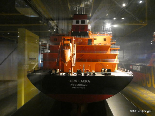 One of many ship models, Maritime Museum