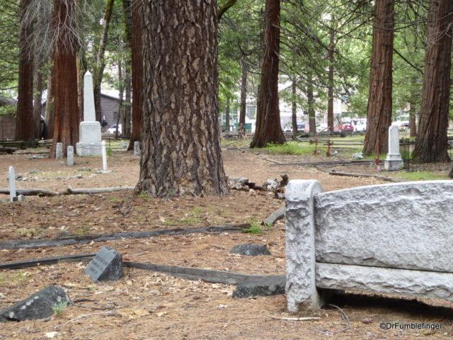 Pioneer Cemetery, Yosemite National Park