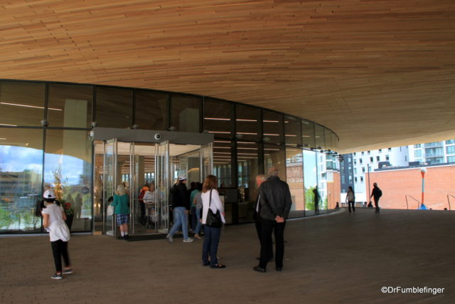 Entrance to the Downtown Calgary Library
